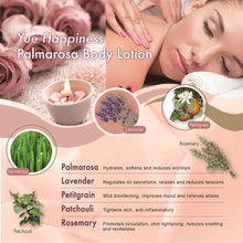[Yue Happiness] Palmarosa Aromatherapy Body Lotion