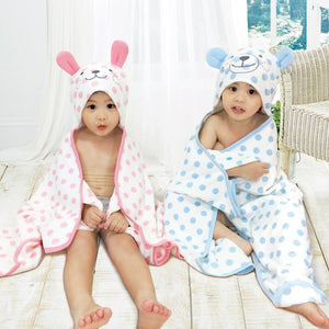 [Edenswear] Toddler Hooded Bath Towel