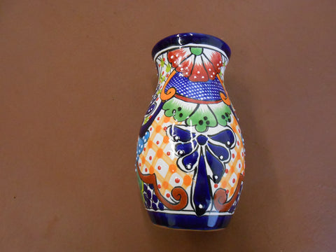 Flower Vase, Med, Talavera Ceramic Pottery Collection