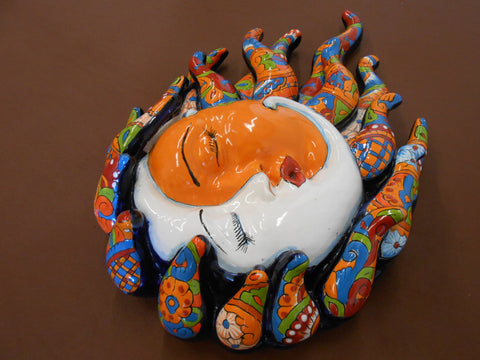 Talavera Eclipse with Sun and Moon Kiss, medium