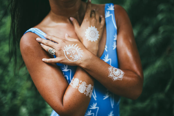 Breathtaking Photoshoot - White Tattoo Flash