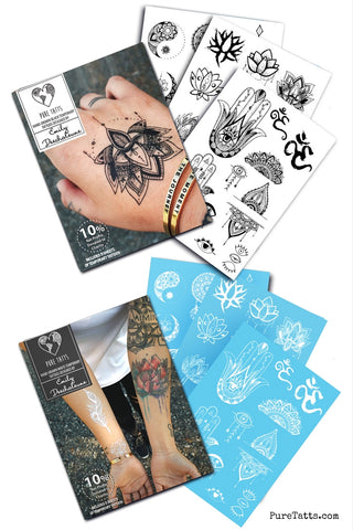 Emily Deechaleune Value Pack (Includes 2 Collections!) ~ Hand Drawn - Pure Tatts