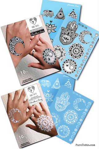 Christina Seng Value Pack (Includes 2 Collections!) ~ Hand Drawn - Pure Tatts