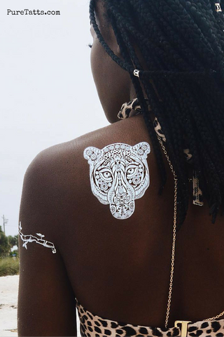 Free Spirit - White - Pure Tatts