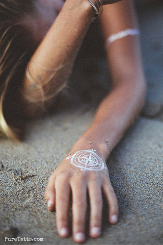 Wanderlust - White - Pure Tatts