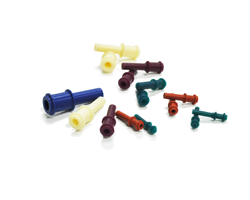 Silicone Dimpled Flanged Plug (DFPP)