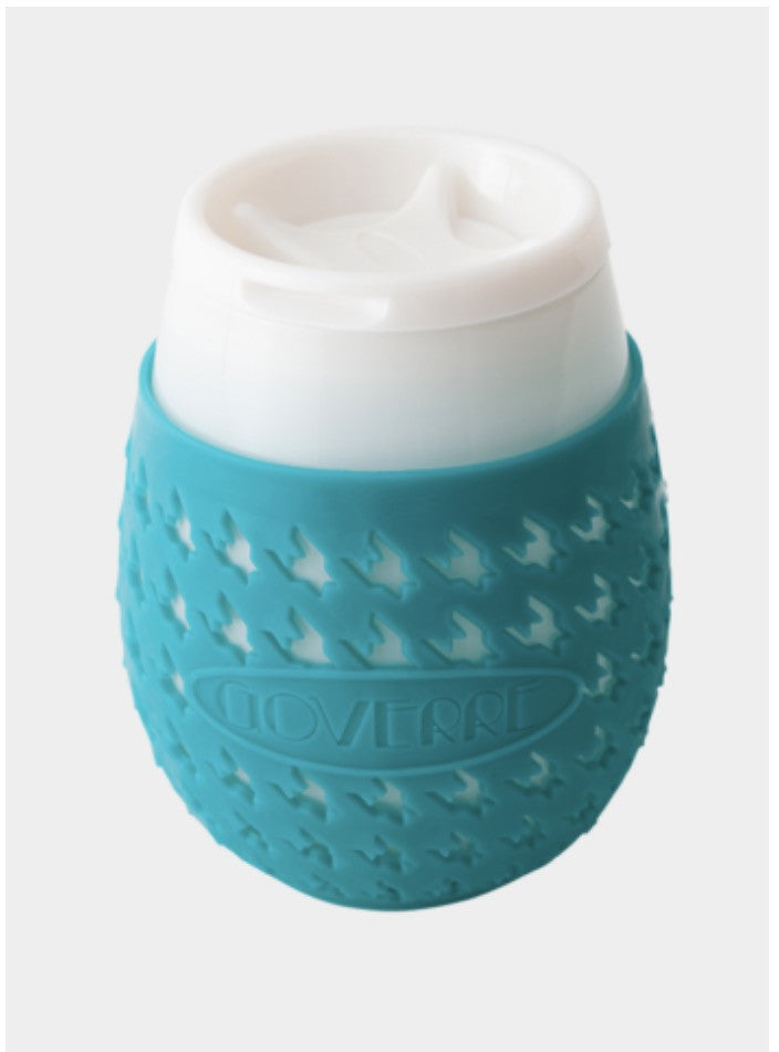 Goverre-Portable, Stemless wine glass-Turquoise