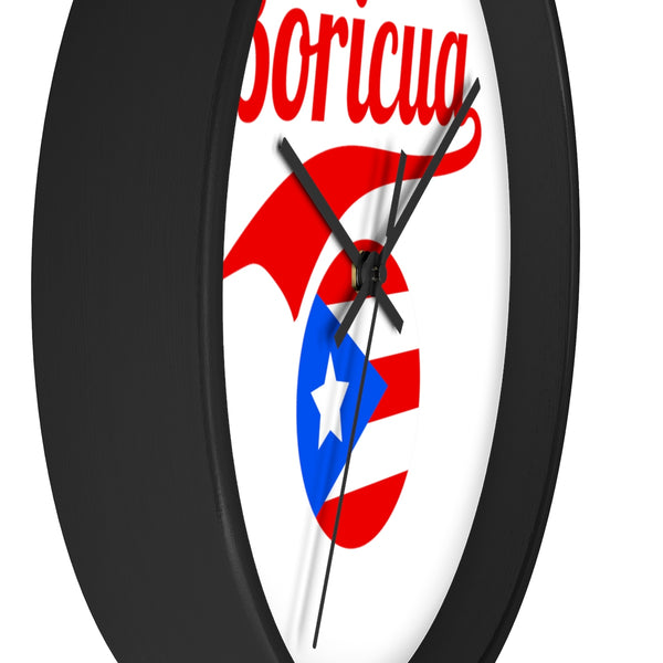 Boricua Wall clock