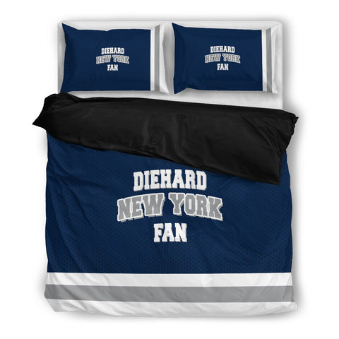Diehard New York Fan Bedding Set