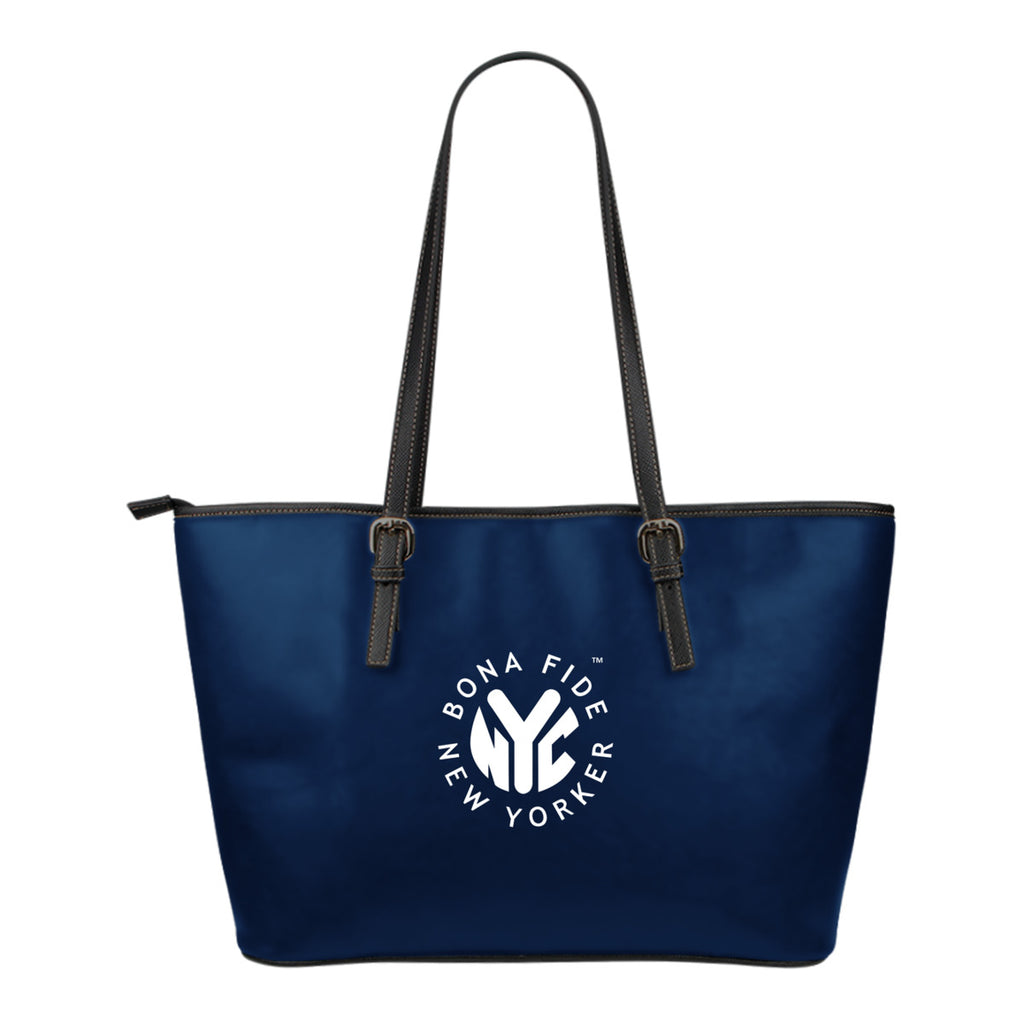 Bona Fide New Yorker Leather Tote Bag (Small)