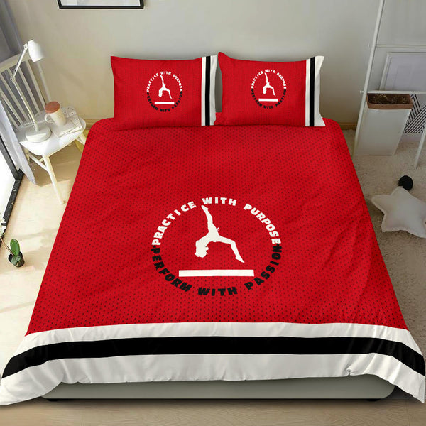Gymnastics-Themed Bedding Set