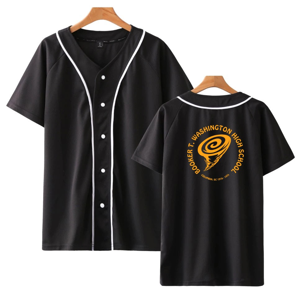 Booker T. Washington High Unisex Baseball Jersey