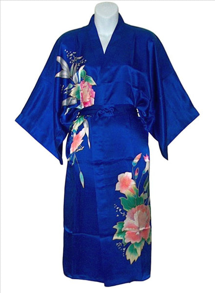 Colorful, Light And Lovely Handpainted Silk Robes