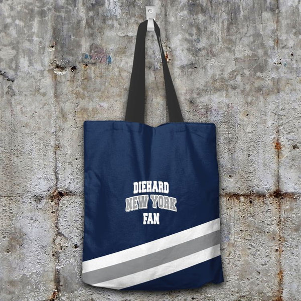Diehard New York Fan Tote Bag