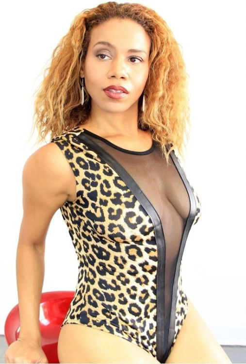 Call Of The Wild Leopard Print Bodysuit