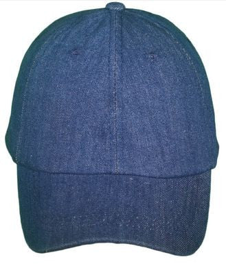 Unisex Denim Cap