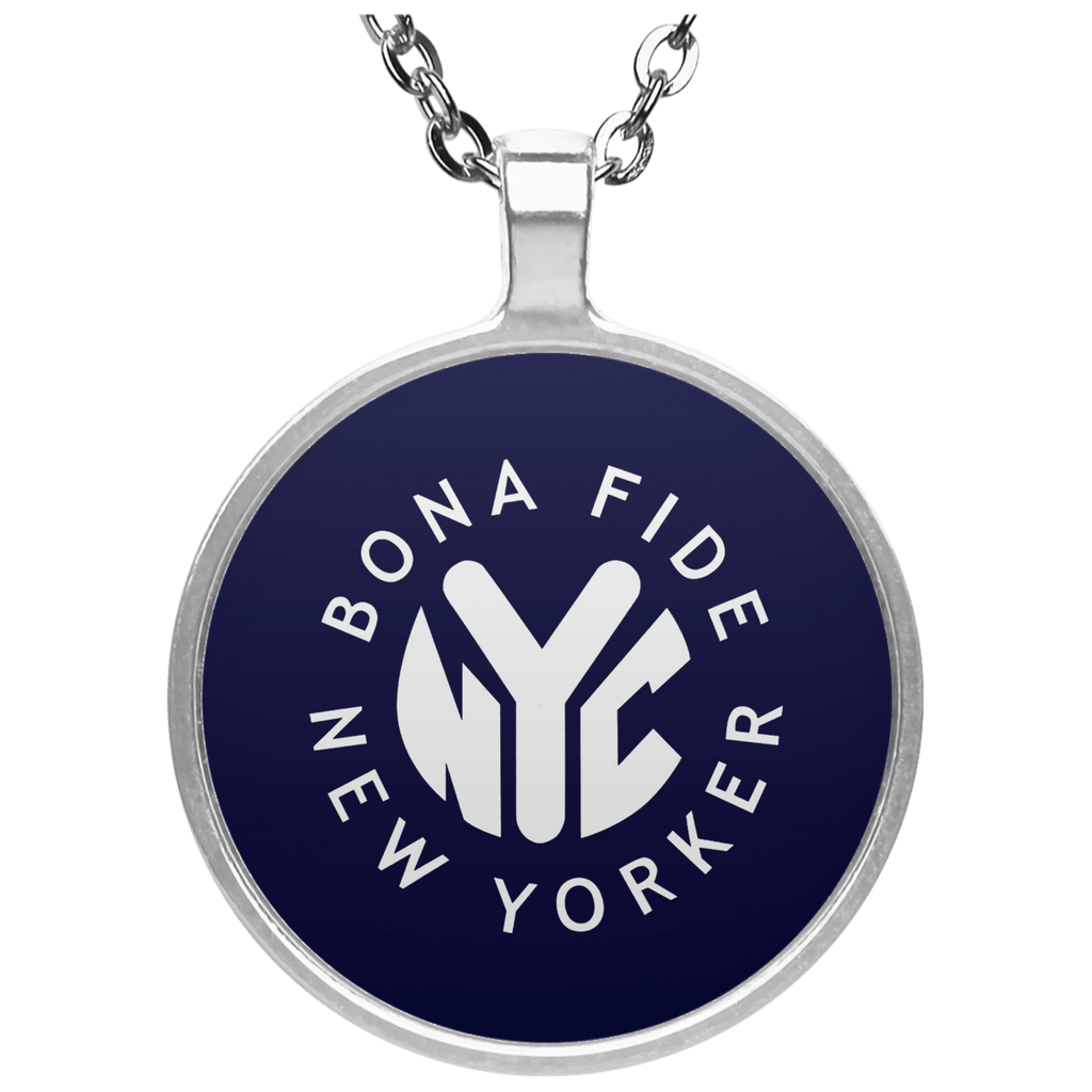 Bona Fide New Yorker Circle Necklace