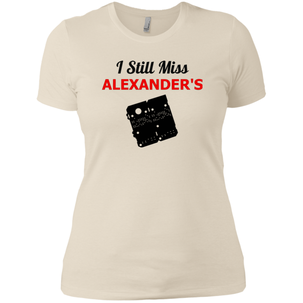 I Still Miss Alexander's Ladies' Boyfriend T-Shirt 2