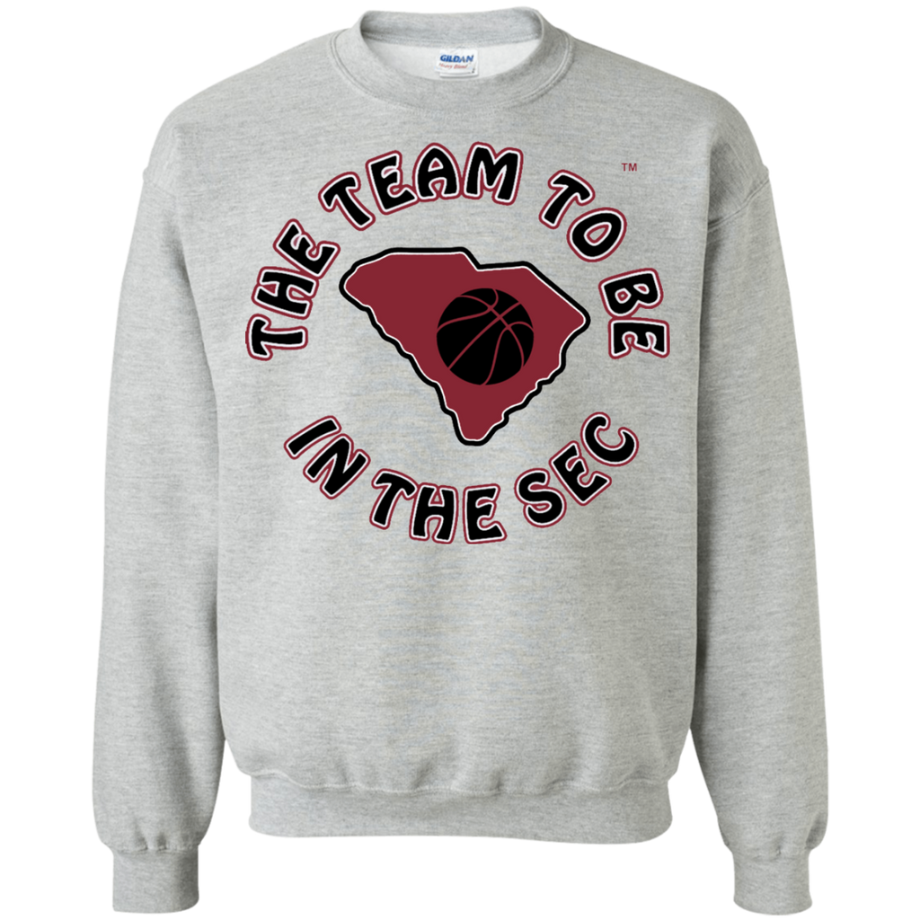Gildan S. Carolina BBall The Team To Be Crewneck Pullover Sweatshirt  8 oz.