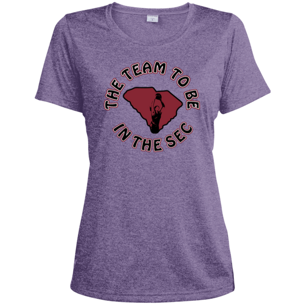 Ladies' Heather Moisture-Wicking T-Shirt
