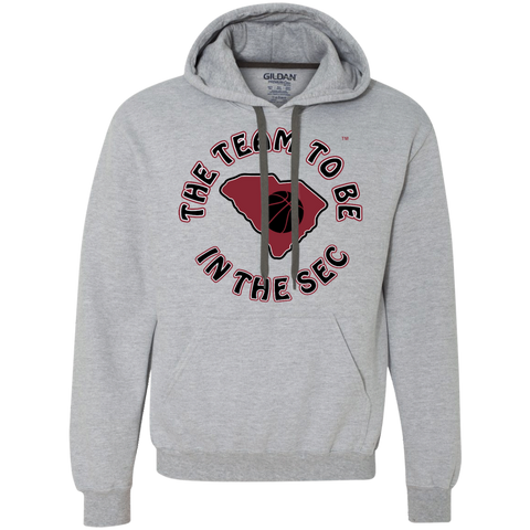 Gildan S. Carolina BBall The Team To Be Heavyweight Fleece Sweatshirt