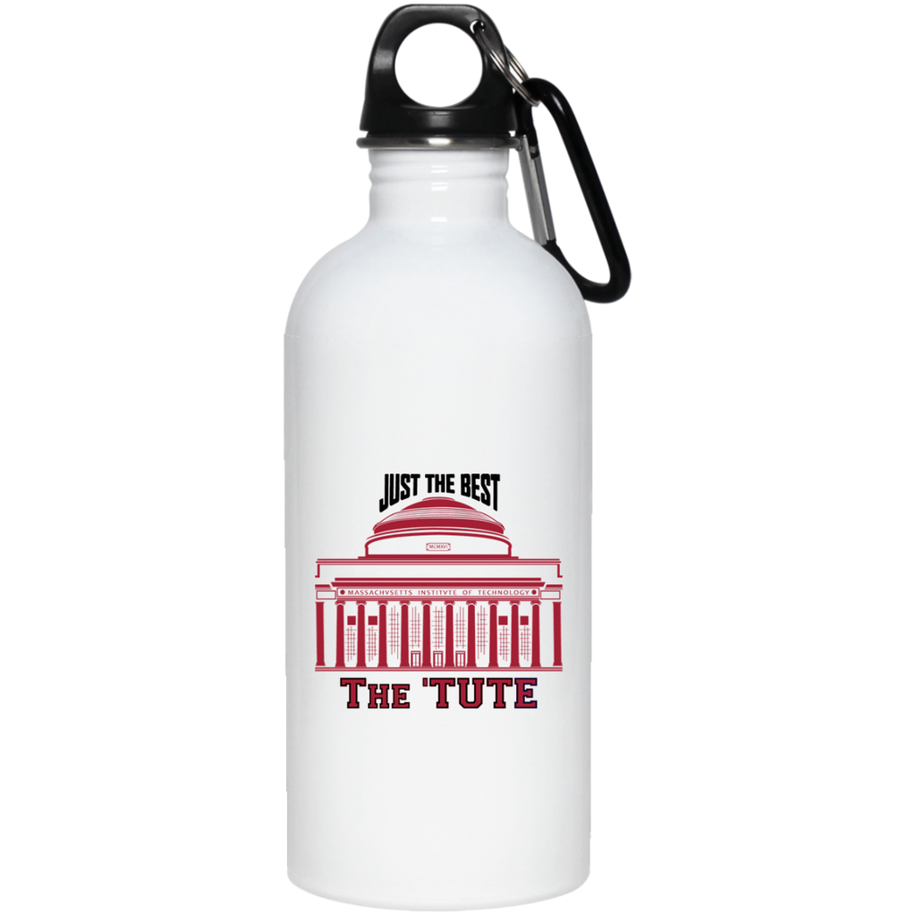 MIT-Inspired Stainless Steel Water Bottle