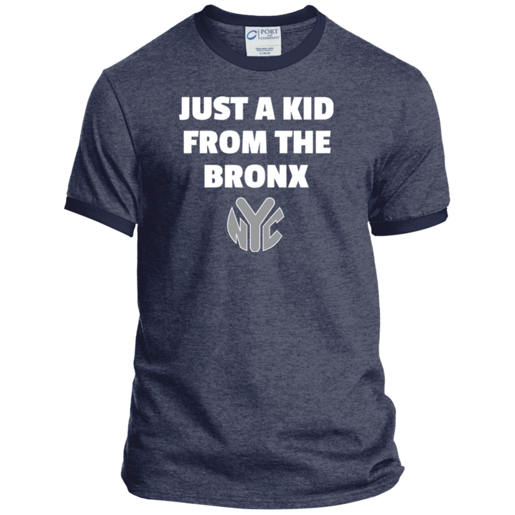 Just A Kid From The Bronx Ringer Tee 1