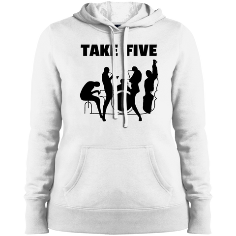 Ladies Pullover Hooded Sweatshirt