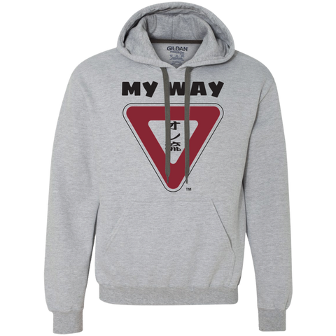 My Way Heavyweight Pullover Fleece Sweatshirt
