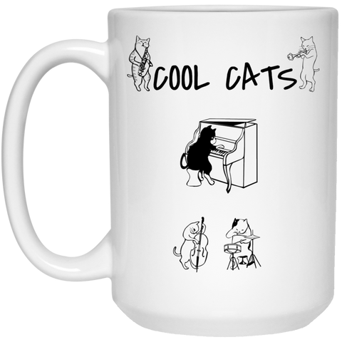 CoolCats Mug - 15oz