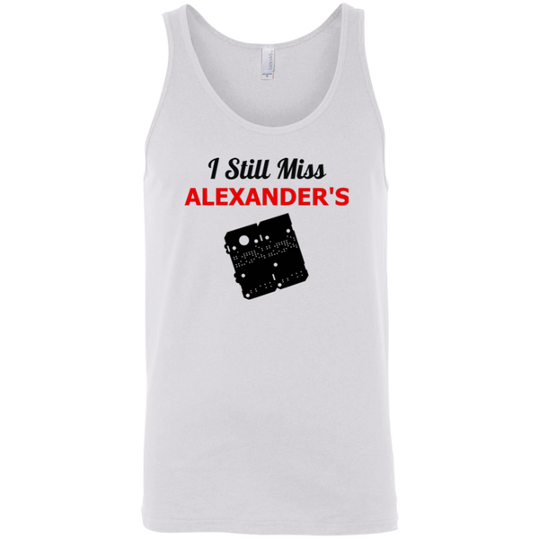 I Still Miss Alexander's Bella + Canvas Unisex Tank 2