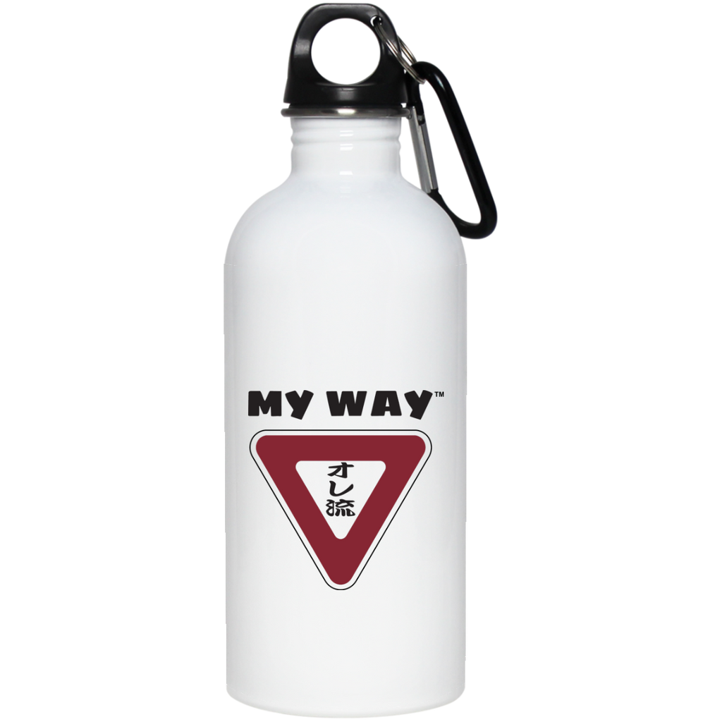 My Way Stainless Steel 20 oz Water Bottle