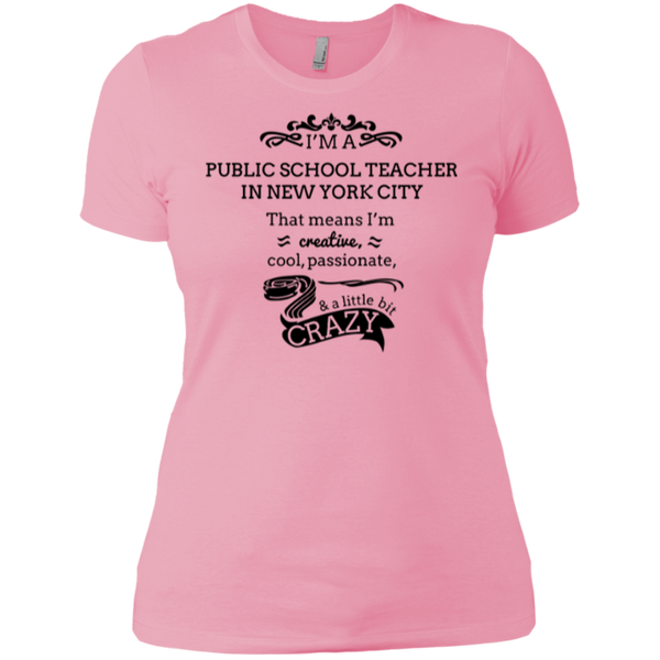 NYC Teacher Ladies' Boyfriend T-Shirt