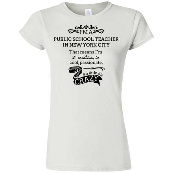 NYC Teacher Gildan Softstyle Ladies' T-Shirt
