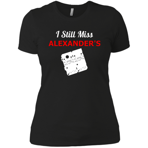 I Still Miss Alexander's Ladies' Boyfriend T-Shirt