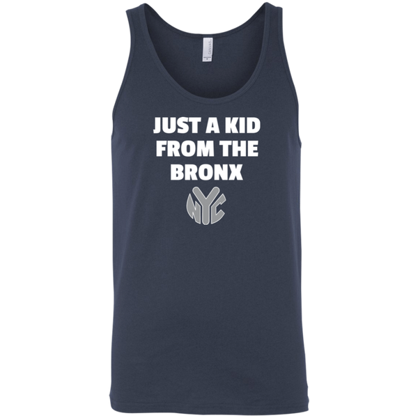 Just A Kid From The Bronx Bella + Canvas Unisex Tank 1
