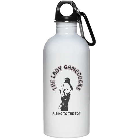 20 oz. S. Carolina Rising To The Top Stainless Steel Water Bottle