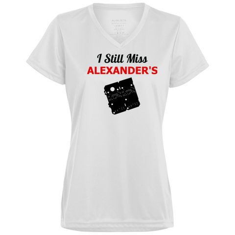 I Still Miss Alexander's Ladies' Wicking T-Shirt 2