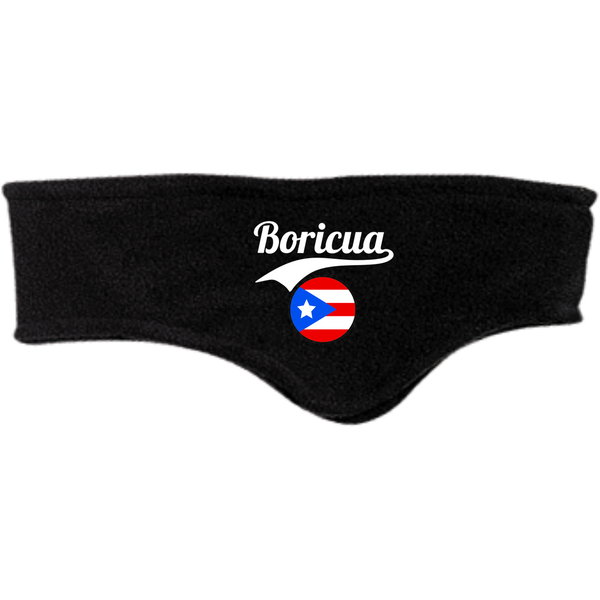 Boricua Fleece Headband