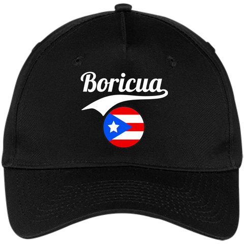 Boricua Five Panel Twill Cap