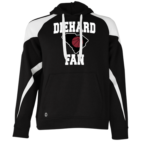 Holloway S. Carolina BBall Diehard Fan Colorblock Hoodie
