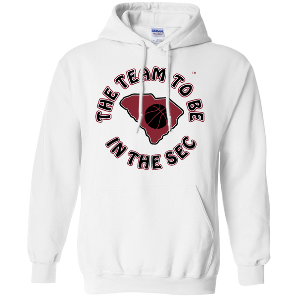 Gildan S. Carolina BBall The Team To Be Pullover Hoodie 8 oz.