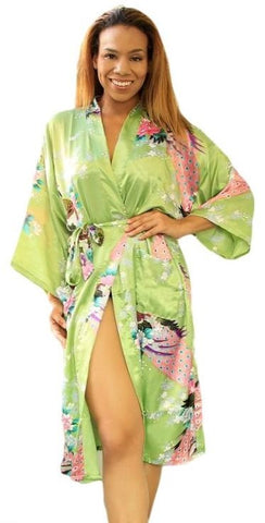 Synthetic Silk Robes