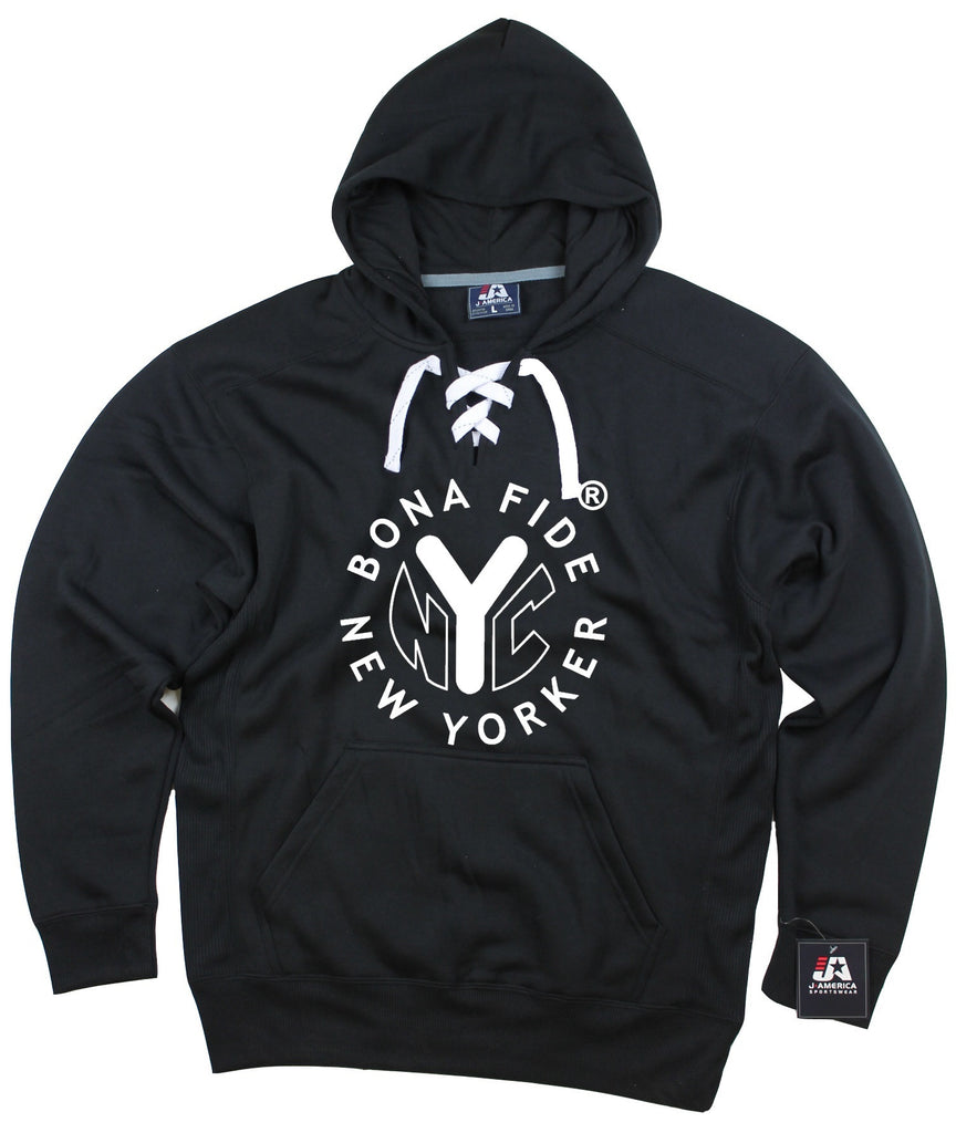 Sports/Hockey Style Hoodie With Heat Pressed Logo