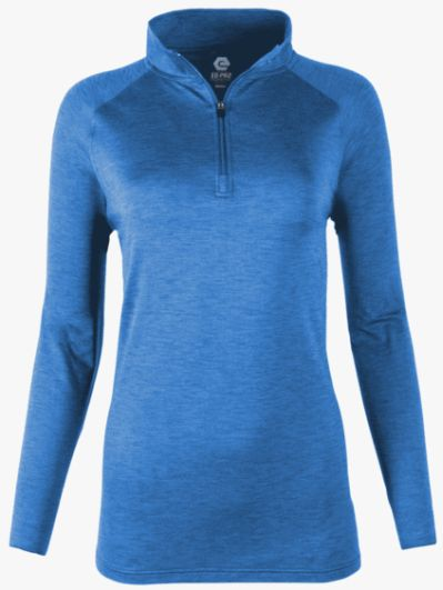 PWP Women's Long Sleeve Quarter Zip Top
