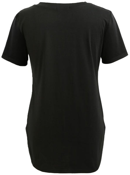 Longline Tee/Tunic With BonaFideNYer Graphic