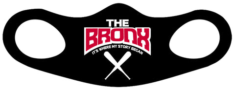 The Bronx It's Where My Story Began Fitted Face Mask 1