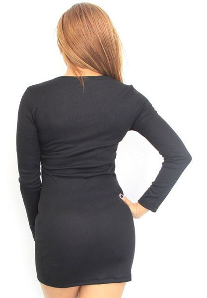 Zippered Little Black Dress
