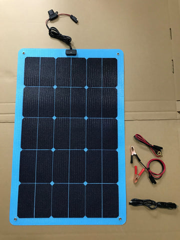 DV Blue 5012  Solar Charger 3.0 Amp 12V (New for2020)