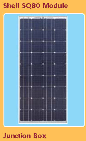 Shell Solar SQ80 / SQ85 & Siemens Solar SP75 / SP70 - Replacement Solar Panel 85W - 36 High Efficiency Crystalline Solar Cells.